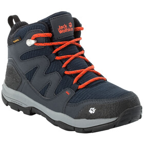 Jack Wolfskin MTN Attack 3 Texapore Middelhoge Schoenen Kinderen, dark blue/orange